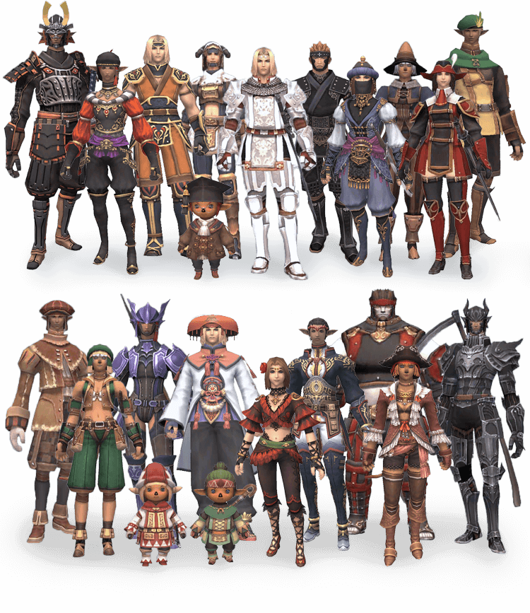 FINAL FANTASY XI Official Promotional Site | SQUARE ENIX